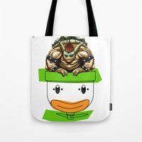 King Koopa & His Clown Car Tote Bag