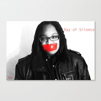 Day Of Silence (Arielle)… Canvas Print