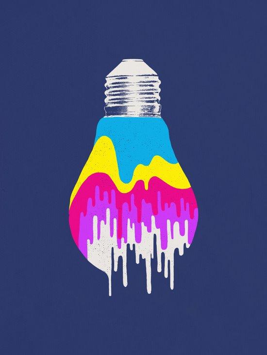 Colors of Light Art Print