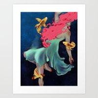 Float Art Print