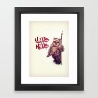 Yub Nub Framed Art Print