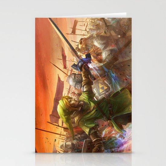 Legendary Battle  Stationery Card