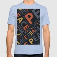 Peace....no more wars Mens Fitted Tee Athletic Blue SMALL