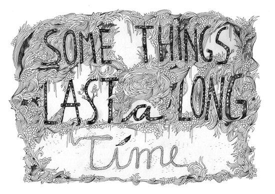 Some Things Last A Long Time Canvas Print