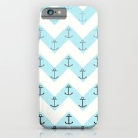 iPhone & iPod Case featuring Anchors by Mercedes Lopez