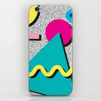 Abstract 1980's iPhone & iPod Skin