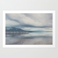 Reflections In The Water… Art Print