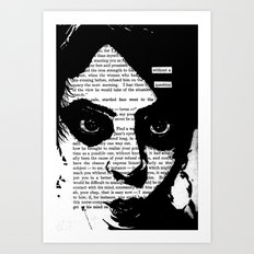 Without a Question Art Print