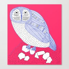 Just Another Owl Canvas Print