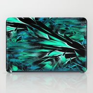 Jungle Trip (teal) iPad Case