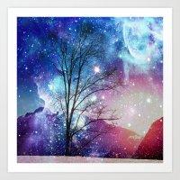 twilight Art Prints featuring Twilight by haroulita