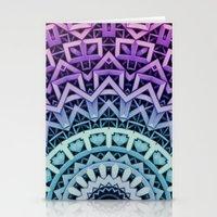 3D-Abstract-Digital-Patt… Stationery Cards