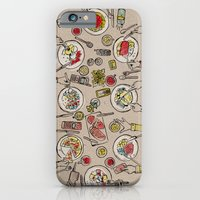 iPhone & iPod Case featuring Generations Dinner by florever