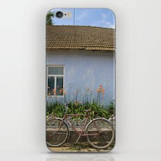 Bike Rest iPhone & iPod Skin
