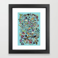 For The Love Of Drawing Framed Art Print