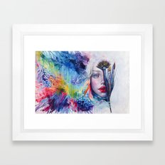 Coralized Framed Art Print
