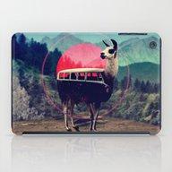 iPad Case featuring Llama by Ali GULEC