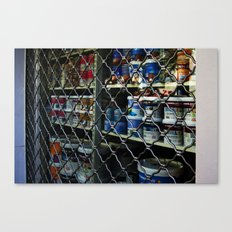 Paint shop Canvas Print