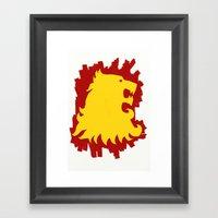 Hear Me Roar - Game Of T… Framed Art Print