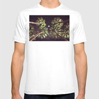 Elevated Paradise Mens Fitted Tee White SMALL