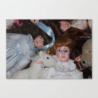 dolls Canvas Print