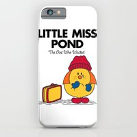 iPhone & iPod Case featuring Little Miss Pond by Mandrie