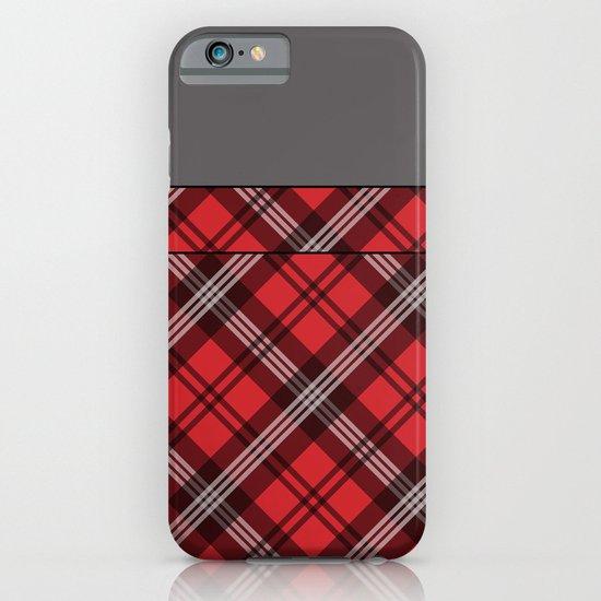 Scottish Plaid (Tartan) - Red iPhone & iPod Case