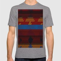 Autumn Colors Mens Fitted Tee Athletic Grey SMALL