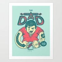 THE DAD Art Print