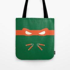 Orange Ninja Turtles Michelangelo Tote Bag