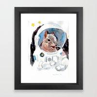 Astro-Nut Framed Art Print