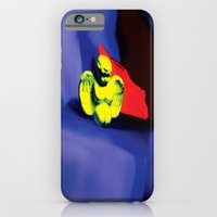 iPhone & iPod Case featuring Lamentation in Blue, Yellow, and Orange by rvz_photography