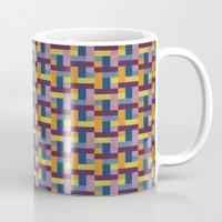Woven Pixels V Mug