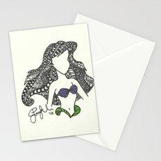 Ariel Zen Tangle Stationery Cards