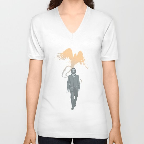 Out of the ashes arose a Phoenix V-neck T-shirt
