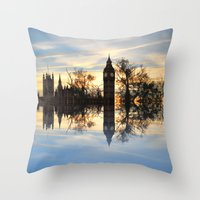 Westminster woods Throw Pillow