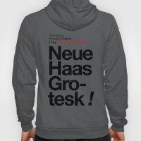 Helvetica Neue / Neue Ha… Hoody