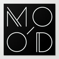 MOOD - MODERN Canvas Print