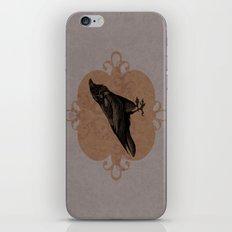Crow Flourish iPhone & iPod Skin