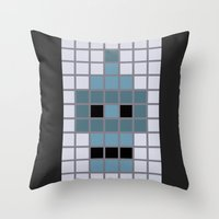 Bender Was Here Throw Pillow