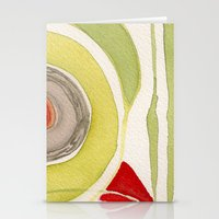 tribal Stationery Cards featuring Tribal by angela deal meanix