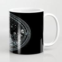 Miniature Circle Landscape 2: Astronausea.. Mug