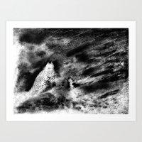 Dream view serie - Night meeting Art Print