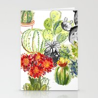 C Is For Cacti Stationery Cards