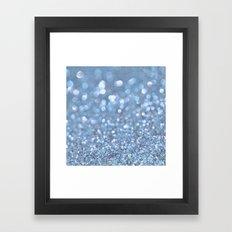 Baby Baby Blue Framed Art Print