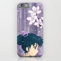 iPhone & iPod Case featuring Cherry Blossom by Aleksandra Mikolajczak