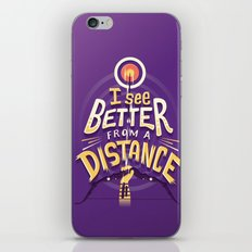 Better from a distance iPhone & iPod Skin