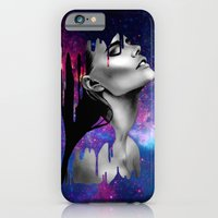 iPhone & iPod Case featuring Paint Rain by Giwrgos Diamantiis