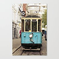 the tram Canvas Print