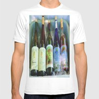 vino time Mens Fitted Tee White SMALL